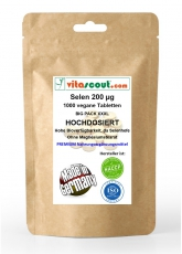 Selen / Selenium 200 mcg & ACE - 1000 Tabletten - PN: 101211