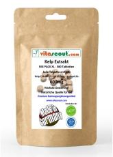 Kelp Extrakt 600 - enthält ca 900 mcg Jod - 360 Kapseln HOCHDOSIERT - PN: 010341
