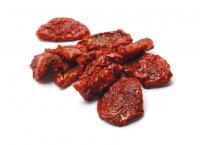 400g Tomaten-Hälften getrocknet, ungeschwefelt, hell-rot, leicht gesalzen
