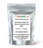 Glucosamine Sulphat 2 KCL - Marine Chondroitin Sulphat - MSM - 135 hochdosierte Formel Tabletten - Rundum-Gelenknahrung