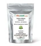Folsäure 180 Tabletten je 400mcg - Folic Acid - Vitamin B9 - 200% des Tagesbedarfs je Tabl.