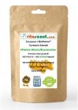 Curcuma + Bioperine® 500 Kapseln - Kurkuma VEGAN - Turmeric Piperine - No Tabletten