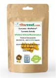 Curcuma + Bioperine® 360 Kapseln - Kurkuma VEGAN - Turmeric Piperine - No Tabletten